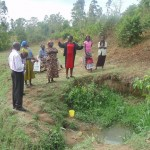 The Water Project: Mukhomba Spring -