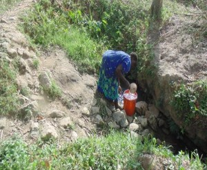 The Water Project : kenya4371-01-initial-condition-of-the-spring