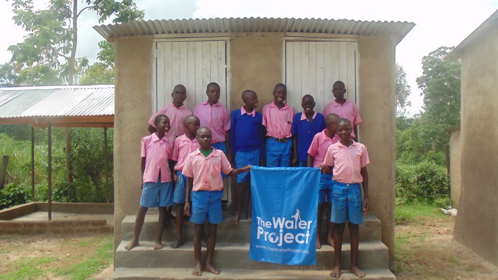 The Water Project : kenya4327-90-latrines-complete