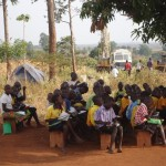 The Water Project: LAMVORONGUR COMMUNITY SCHOOL BOREHOLE -