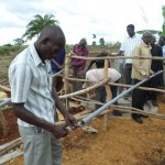 The Water Project: Kigumba Kyamugwera Hand Dug Well -