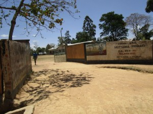 The Water Project : kenya4344-13-school-gate