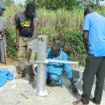 The Water Project: Shipala Community Water Project Rehabilitation -
