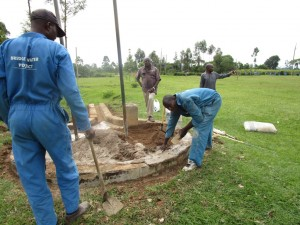 The Water Project : plastering