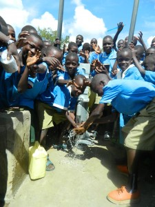 The Water Project : pupils-are-happy-enjoying-the-clean-and-safe-water-4
