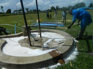 The Water Project : test-pumping-mutsuma-water-2
