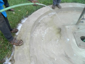 The Water Project : test-pumping-mutsuma-water-5