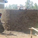 The Water Project: Lureko Primary School Rain Water Harvesting Tank and VIP Latrine -