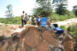 The Water Project : kenya4386-05-nzalu-dam-site-and-local-materials