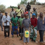 The Water Project: Matoma Nyumba Kumi Sand Dam -