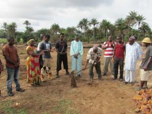 The Water Project : sierraleone5070-14-groundbreaking-ceremony