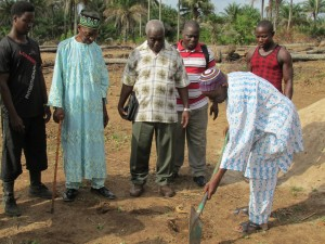 The Water Project : sierraleone5070-15-groundbreaking-ceremony-chief