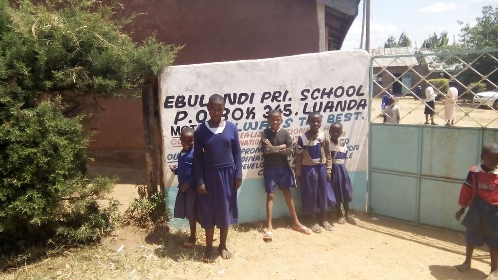 The Water Project : kenya4325-01-school-gate