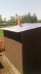 The Water Project : kenya4326-75-latrine-construction