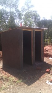 The Water Project : kenya4326-76-latrine-construction