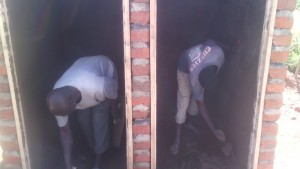 The Water Project : kenya4326-77-latrine-construction