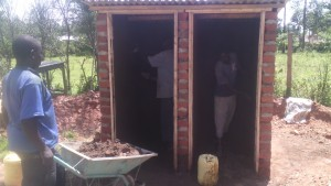 The Water Project : kenya4326-78-latrine-construction
