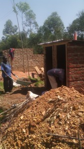 The Water Project : kenya4326-80-latrine-construction