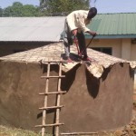 The Water Project: Eshinutsa Primary School Rainwater Harvesting and VIP Latrines -