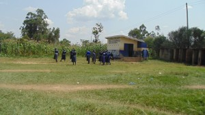 The Water Project : kenya4326-87-ecosan-latrine-for-girls-at-eshinutsa-primary-school