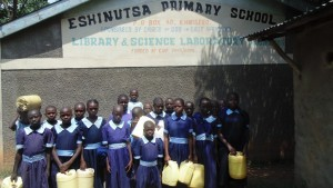 The Water Project : kenya4326-98-students