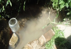 The Water Project:  Spring Before Protection