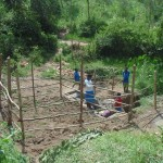 The Water Project: Muraka Community, Aliuba Spring -