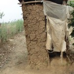 The Water Project: Mumuli Community -  Pit Latrine Used By Village Members At Mumuli