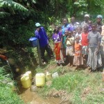 The Water Project: Mumuli Community -  Unprotected Spring