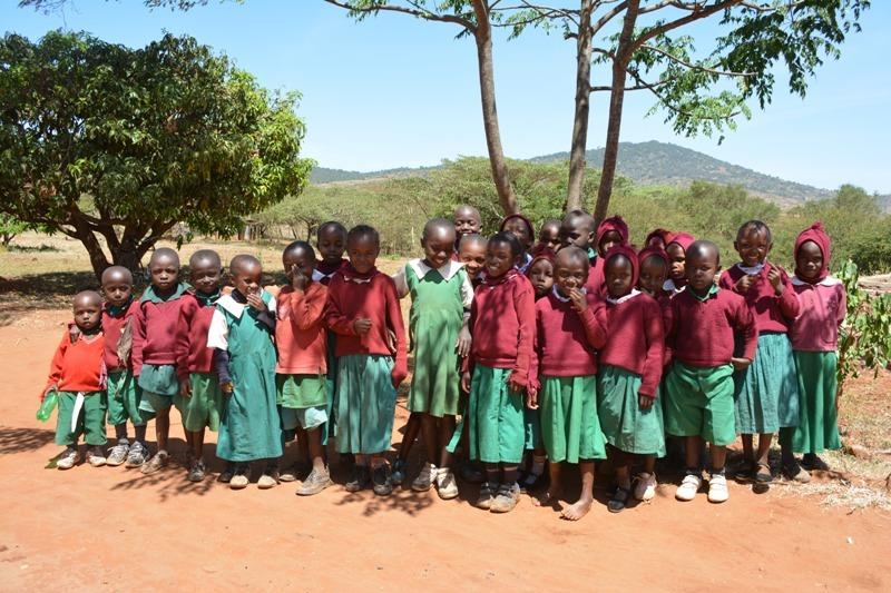 The Water Project : kenya4392-11-kiima-kiu-primary-school-pupils