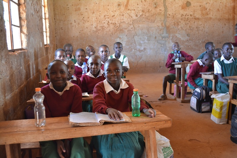 The Water Project Kenya Kiima Kiu Primary School