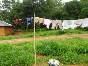 The Water Project : sierra-leone5072-04-clothesline