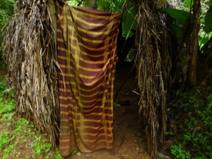 The Water Project : sierra-leone5074-22-native-toilet-1