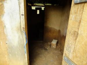 The Water Project : sierraleone5061-21-latrine-4-inside