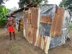 The Water Project : sierraleone5061-23-latrine-bathing-area