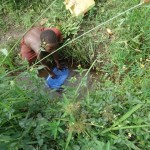 The Water Project: Waiga Tula Hand Dug Well -