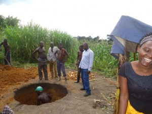 The Water Project : uganda684-05-waiga-excavation