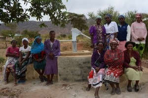 The Water Project : kenya4311-08-muselele-shallow-well-complete