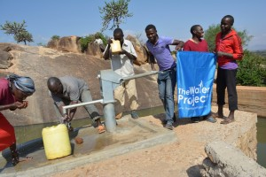 The Water Project : kenya4315-07-kithuani-shallow-well-pictures