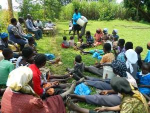 The Water Project : kenya4338b-60-hygiene-and-sanitation-taining-at-mutsuma-ommunity