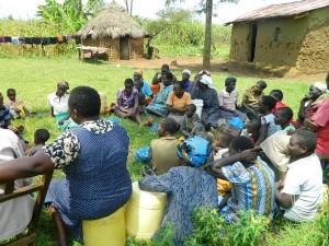 The Water Project : kenya4338b-61-hygiene-and-sanitation-taining-at-mutsuma-ommunity