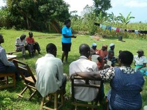 The Water Project : kenya4338b-62-hygiene-and-sanitation-taining-at-mutsuma-ommunity