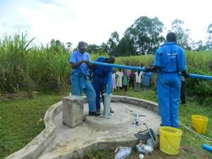 The Water Project : kenya4338b-89-rising-main-pipes-installation