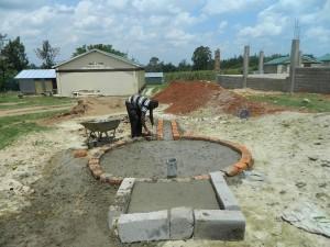 The Water Project : kenya4365-37-samitsi-girls-pad-construction
