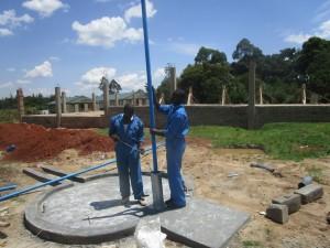 The Water Project : kenya4365-41-pump-installation