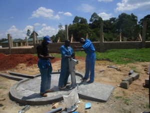 The Water Project : kenya4365-45-pump-installation