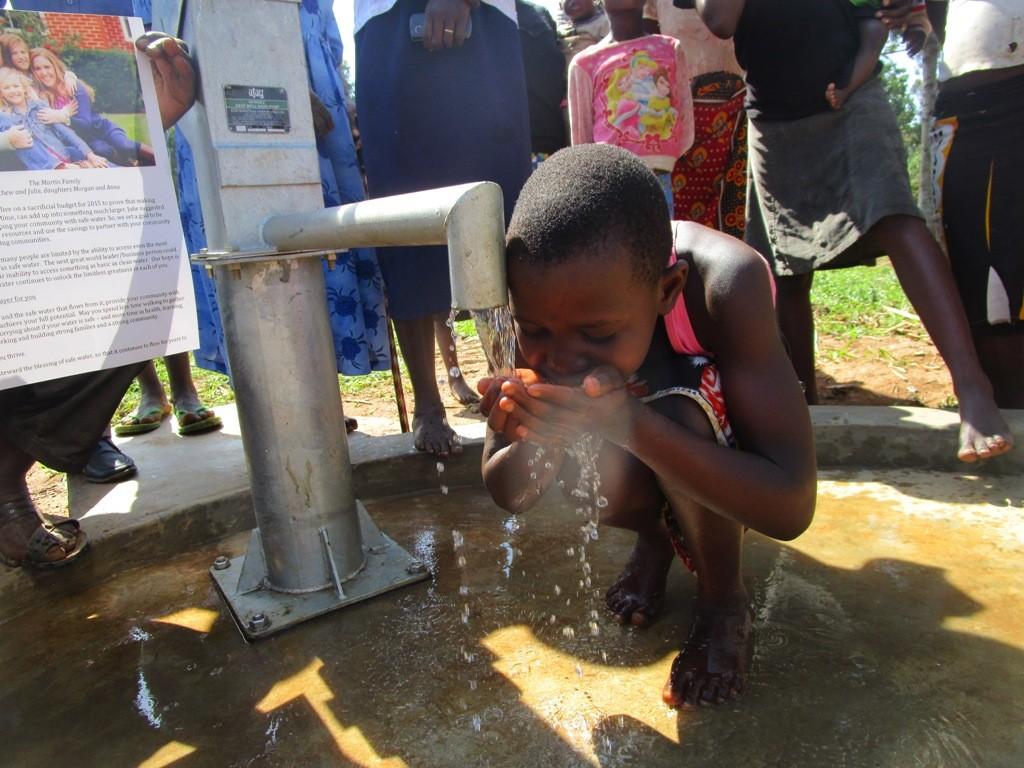 Photo of Eshitowa Community New Well Project