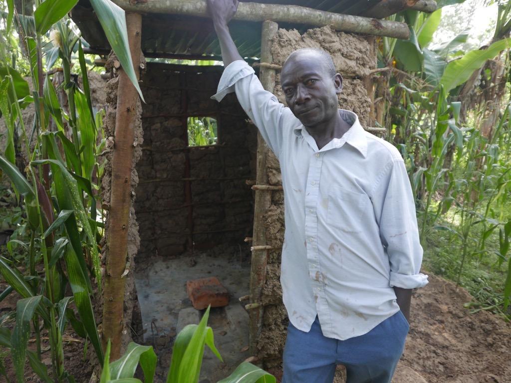 The Water Project : kenya4372-58-sanplat-latrine