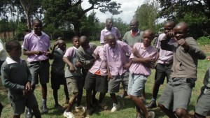The Water Project : kenya4404-04-boys-being-boys