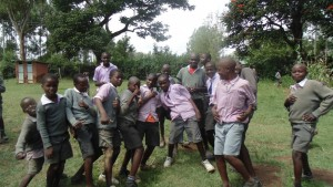 The Water Project : kenya4404-05-boys-being-boys